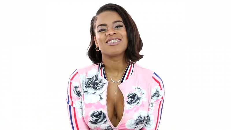 Naomi Young aka Pariis Tastes Boosie Badazz Boosie Juice Vodka With DJ Smallz