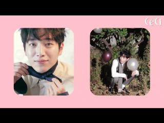 [BTS] Канджун на съемках для декабрьского выпуска CeCi
