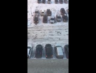 моя парковка глазами очевидца))