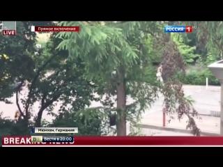 Полиция Мюнхена просит не публикликовать в Сети фото с места стрельбы