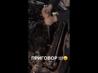 Замена двигателя на Субару