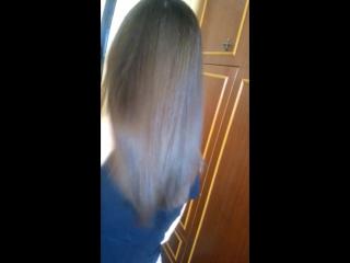 ботокс волос и кератин чёлки)