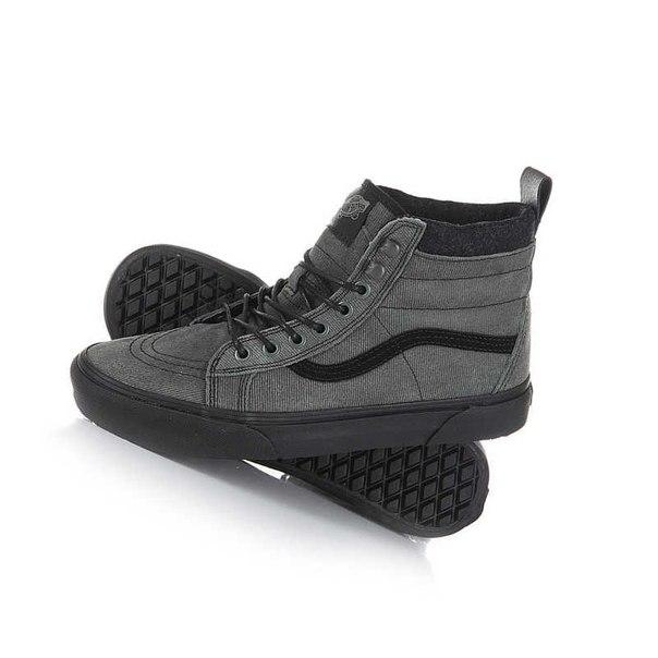 Покупка Кеды кроссовки высокие Vans Sk8-Hi Mte Denim Sue Grey в ... a7d39e8a2910f