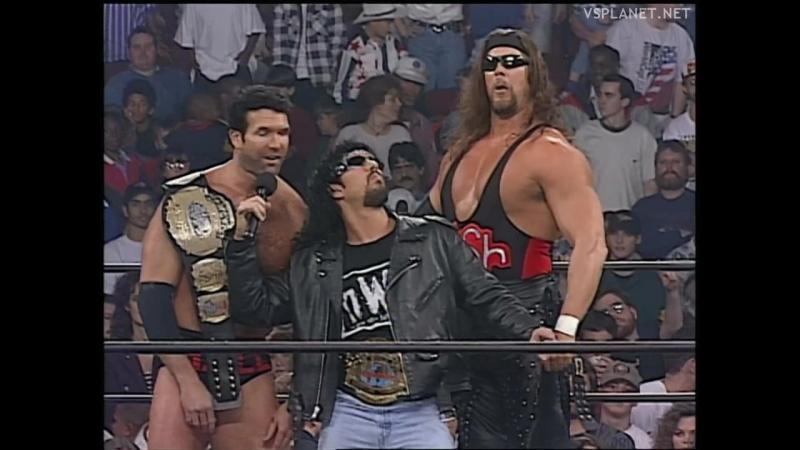 NWO chaos at WCW Monday Nitro 10.02.1997