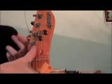 Правильная замена струн на гитаре (электрогитаре)