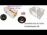 Ural Titanium VS Kenwood KSC-W1200B