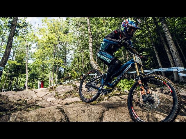 Danny Hart's BLAZING MTB Winning Run at Mont-Sainte-Anne   UCI MTB World Cup 2016