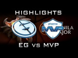 EG vs MVP Manila Major Highlights Dota 2
