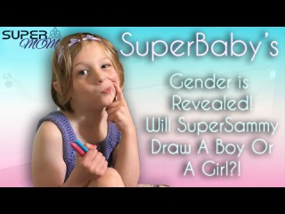 SuperBaby's Sex Is Revealed, Boy Or Girl?! SuperMOM