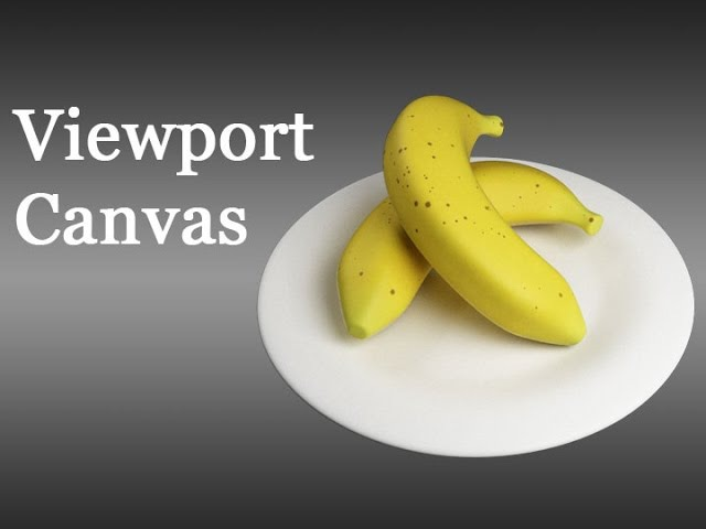3DS Max - Creating Textures with the Viewport Canvas