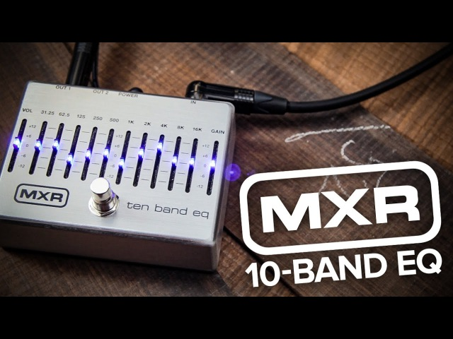 Strings Direct TV | MXR M108s 10-Band EQ pedal for Guitar Bass