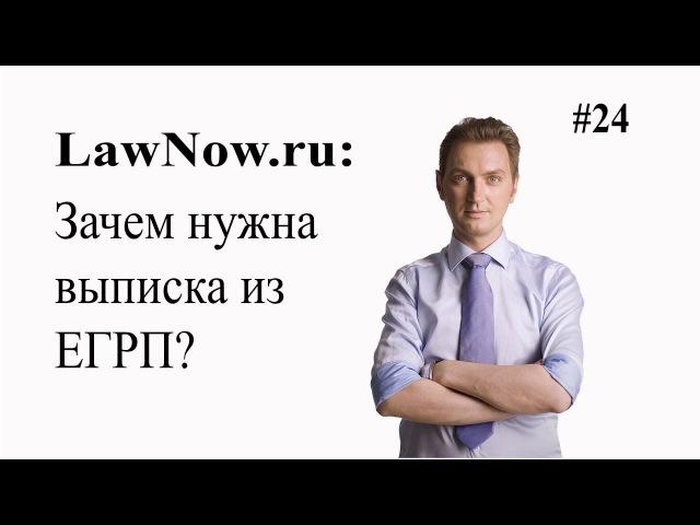 LawNow.ru Зачем нужна выписка ЕГРП