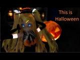 (MMD) ~This is Halloween~ Rin, Miku, Lenka (Model DL)