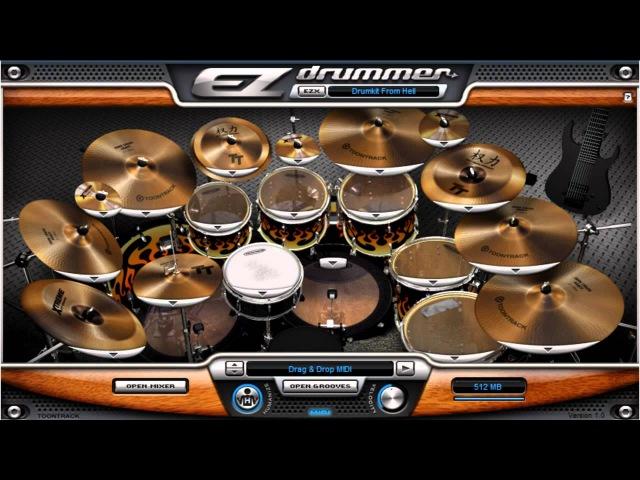 EZ Drummer - DFH - Death Metal Demo