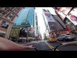 Езда на BMX по городу