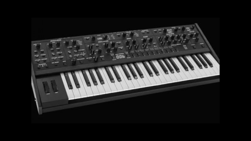 DSI/Oberheim OB-6 classic/vintage sounds by Luke Neptune HD » Freewka.com - Смотреть онлайн в хорощем качестве