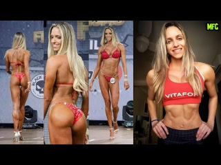 CAROL MARTINS - Bikini Fitness Competitor: Workouts To Burn Fat & Get A Bikini Body Fast @ Brazil