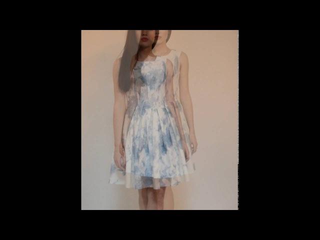 Платье 'Жасмин' Dress Jasmine blue
