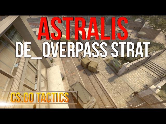 CS:GO Tactics : Astralis de_overpass A- Execution