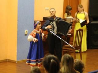 Христина Белогорохова, лауреат I степени школьного фестиваля