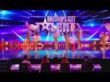 Шоу талантов в Британии ! Эротический балет !!!