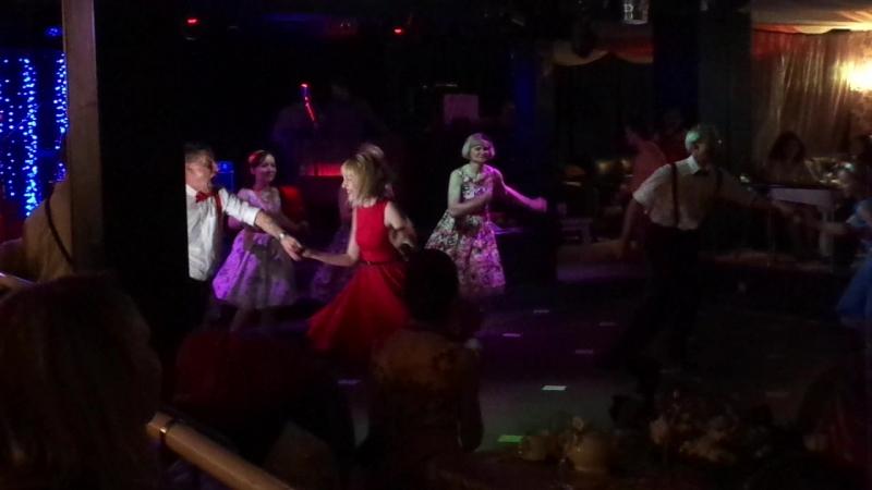 СТИЛЯГИ-STORY №30,Юбилейная.14.05.16г.Выступление участников танцевальной студии.Ресторан Веселый Барин
