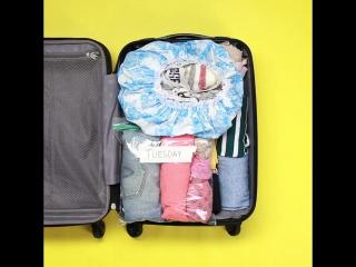 10 лайфхаков: складываем вещи