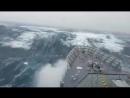 Ошеломляющий шторм в Атлантическом океане