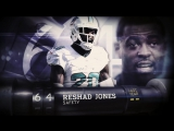 #64 Reshad Jones (S, Dolphins) - Top 100 NFL Players of 2016