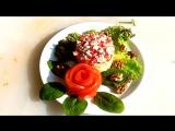 Ну очень вкусный и красивый салат-Магнолия-