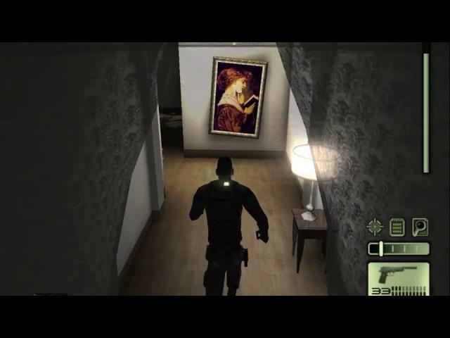 Splinter Cell 1 [PS2/PCSX2/HD] Walkthrough / Прохождение – Миссия 2: Полицейский участок