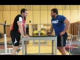 ИВАН ДЕНИСОВ  подсобные упражнения в гиревом спорте