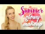 Summer Glowy Makeup Mandaryna