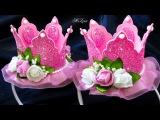 НОВОГОДНЯЯ КОРОНА из ФОАМИРАНА, МК / DIY New Year's Glitter Crown
