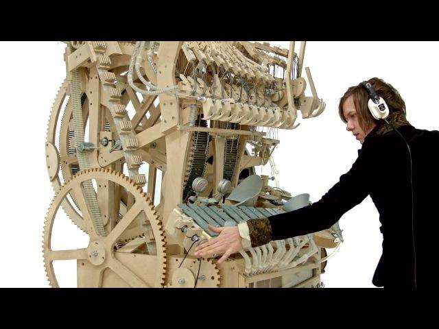 Wintergatan - Marble Machine music instrument Гігантська музична шкатулка, ща грає на 2000 кульках