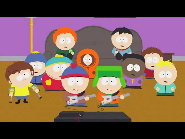South Park S11E13 - Guitar Queer-O - You Are Fags