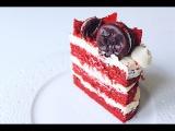 Торт Красный Бархат   Red Velvet Cake