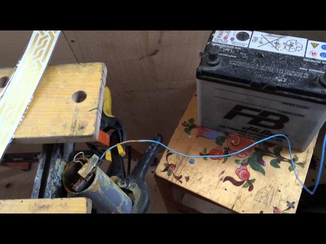 Травление латуни. Электротравление. Травление больших деталей.