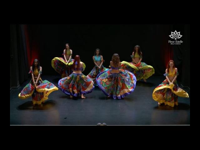 Sega - Belly Dance Fusion A Moment in Mauritius by Fleur Estelle Dance Company to Li Tourner