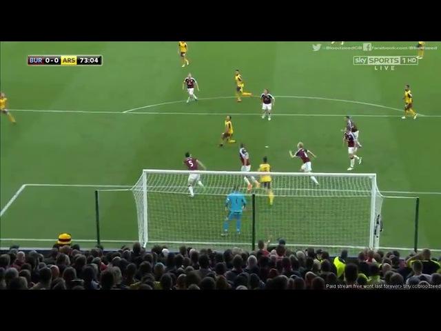 Обзор матча. Бёрнли - Арсенал | 0:1 | Премьер-лига, 7 тур, 02.10.2016
