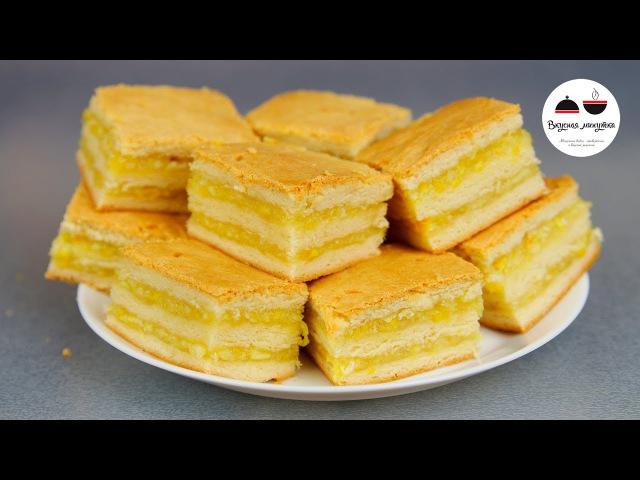 Пирожные с лимонно-апельсиновой начинкой Homemade Cakes
