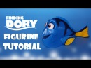 How To Make Dory Figurine Tutorial Fondant Cake Topper