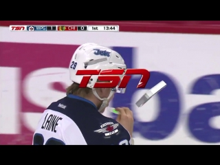 Patrik Laine buries one-timer on the power play 1-26-17