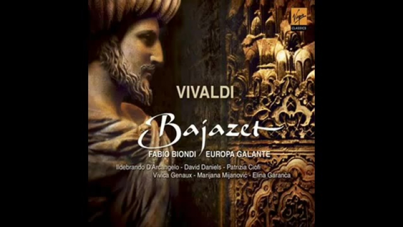 Vivica Genaux Sposa, son disprezzata - Bajazet (A.Vivaldi)