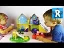 ★ СВИНКА ПЕППА Дом Пеппы Открываем и Играем Peppa Pig House Deluxe Daddy Mummy Pig