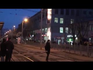 Харьков.19 февраля,2014.Разгон активистов в Харькове Часть 2 . Robinzon TV