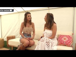 Alessandra Ambrosio Coachella 2017 Interview -The LowDown