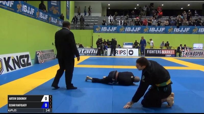 Artem Sidorov vs Eldar Rafigaev ibjjfeuro17 bjj freaks смотреть онлайн без регистрации