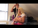 Candy Manson &amp Kelly Madison (Behind the scenes)