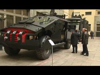 El nuevo vehículo (falcatuz kamaz) del ejercito ruso 2016